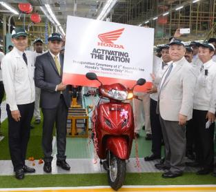 Honda 2Wheelers: New assembly line for Activa production