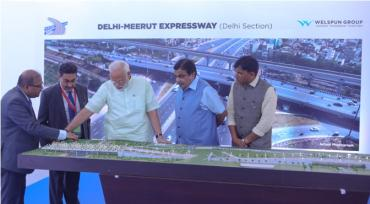 Delhi section of India's first 14-lane expressway inaugurated