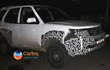 Rumour: Army-spec Tata Safari Storme spotted in Pune
