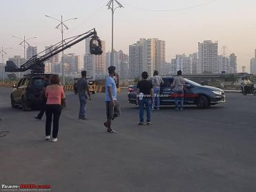 Scoop! India-spec Honda City facelift snapped during ad shoot