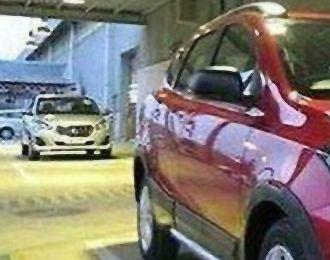 Indonesia: Datsun Go facelift spied