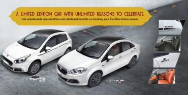 Fiat launches Punto Karbon, Linea Royale special editions