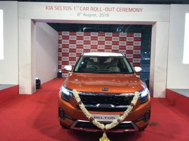 First Kia Seltos rolls off the production line