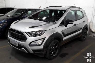 Brazil Ford Ecosport Storm With 4 Wheel Drive Leaked