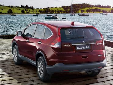 New Honda CRV, now better priced