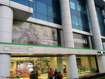 Finally! Kawasaki opens a new dealership in Mumbai