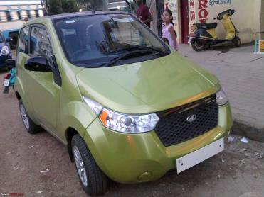 Mahindra to launch the e2o electric car on 18th March