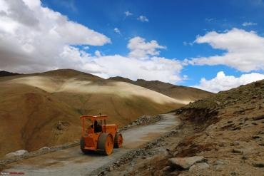Umling La is the new highest motorable pass in the world