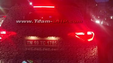 Scoop! Mahindra S201 spied with production-spec tail lamps