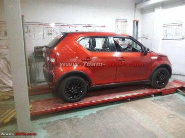 Scoop! India-spec Maruti Ignis spotted without camouflage