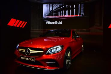 Mercedes-AMG C 43 Coupe launched at Rs. 75 lakh