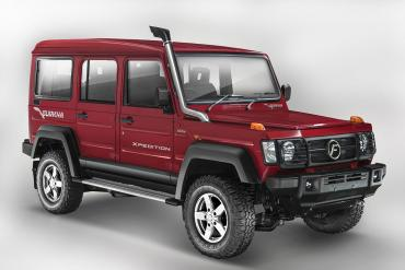 2017 Force Gurkha launched at Rs. 8.38 lakh