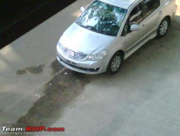 Maruti SX4 Facelift caught!