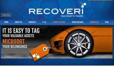 Recoveri launches MicroDot anti-theft tech in India