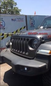 Scoop! Jeep Wrangler Rubicon spotted in India