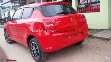 More images: Next-gen Maruti Suzuki Swift spotted undisguised