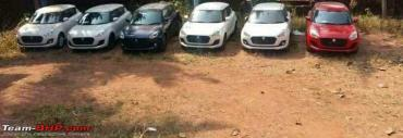 Third-gen Maruti Swift starts arriving at dealerships
