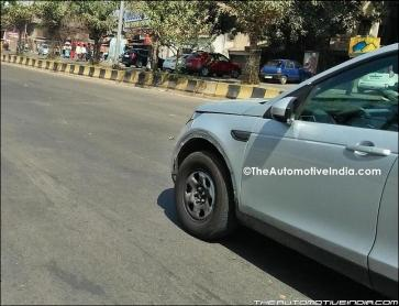 Is this Tata's premium SUV testing under Land Rover skin?