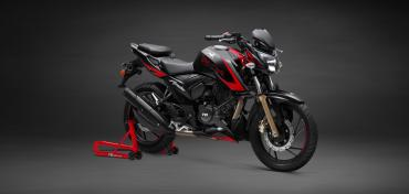 TVS Apache RTR 200 4V with slipper clutch launched