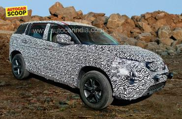 Tata Q501 / H5 spied with production bodywork