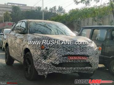 Tata Q502 7-seater SUV spotted