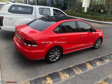 Scoop! VW Polo & Vento facelift spotted