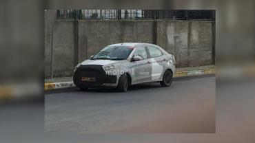 Turkey: Ford Aspire facelift spotted