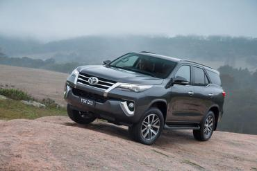 Thailand: New Fortuner launched