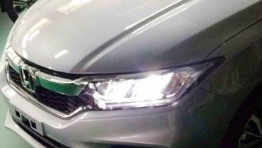 Honda City facelift leaked in undisguised spy shots