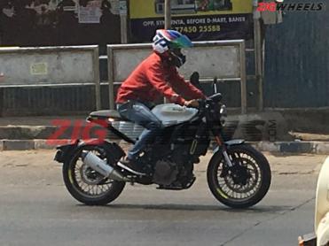 Husqvarna Svartpilen 401 Vitpilen 401 Spotted In Pune
