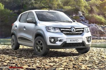 renault kwid to get apple carplay android auto connectivity team bhp. Black Bedroom Furniture Sets. Home Design Ideas