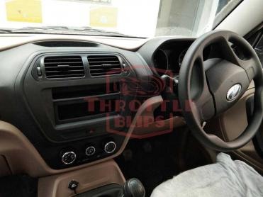 Mahindra TUV300 Plus interiors, third-row of seats spied