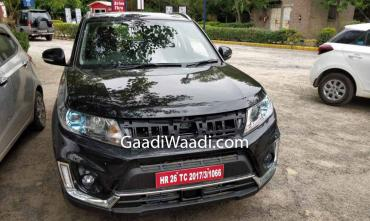 2019 Suzuki Vitara spotted in India