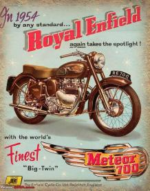 Royal Enfield files 'Meteor' trademark
