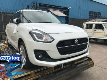 Next-gen Maruti Swift Hybrid spotted in India