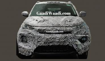 Tata Nexon facelift spied with Impact Design 2.0 styling
