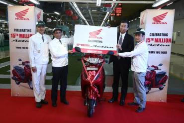 Honda Activa - 1.5 crore units produced till date