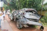 XUV500 topple. No side airbags?