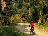 Cycling to Sach Pass...