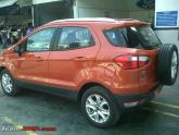 Ford EcoSport Toppled by reviewer