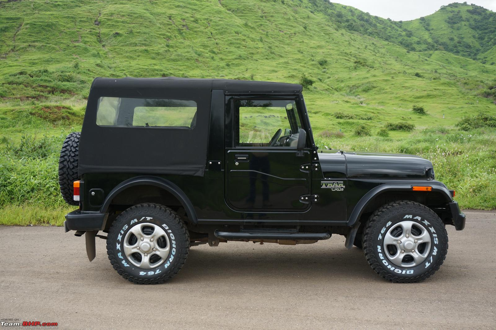 2015 Mahindra Thar Facelift A Close Look Team Bhp