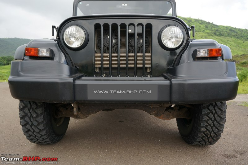 2015 mahindra thar facelift a close look team bhp here you can see where the bumper is bolted to the frame altavistaventures Images
