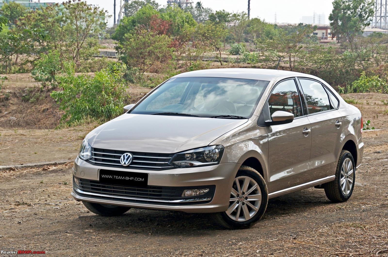 2015 Volkswagen Vento Facelift A Close Look Team Bhp