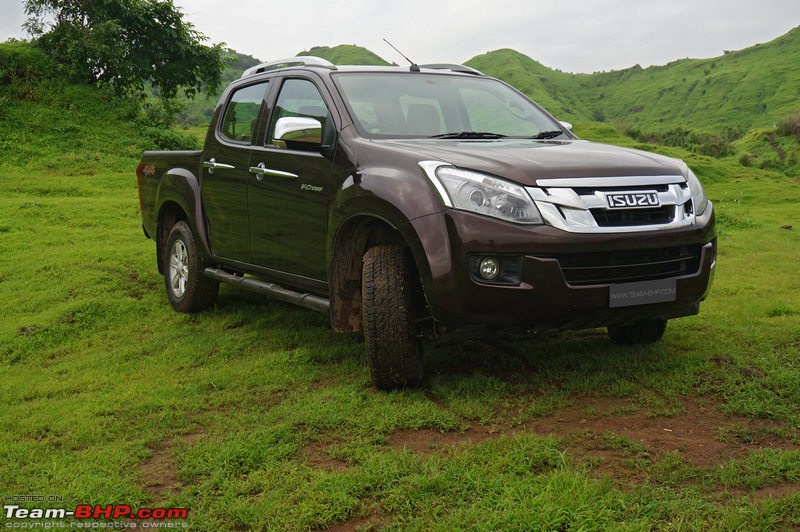 Isuzu D Max V Cross Official Review Team Bhp