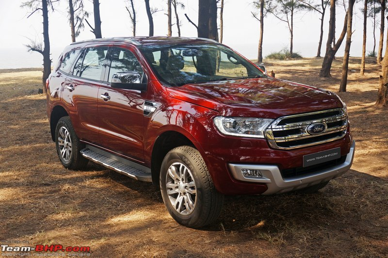 Ford Endeavour Official Review Team Bhp