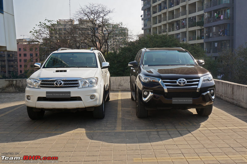 Toyota Fortuner Official Review Team Bhp