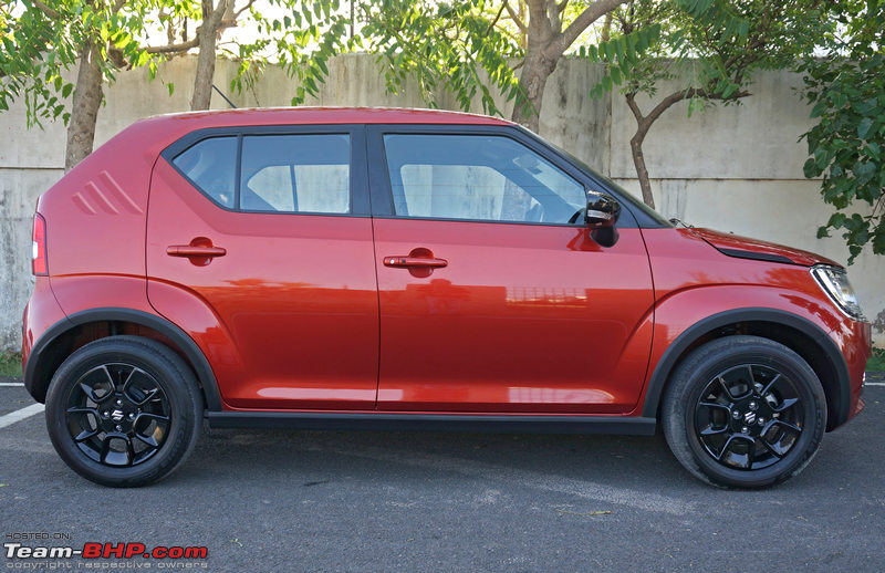 Notice How The Wheels Are Placed At Extreme Corners Of Car Wheelbase Is Long And Overhangs Very Short Maruti Calls Ignis A Premium