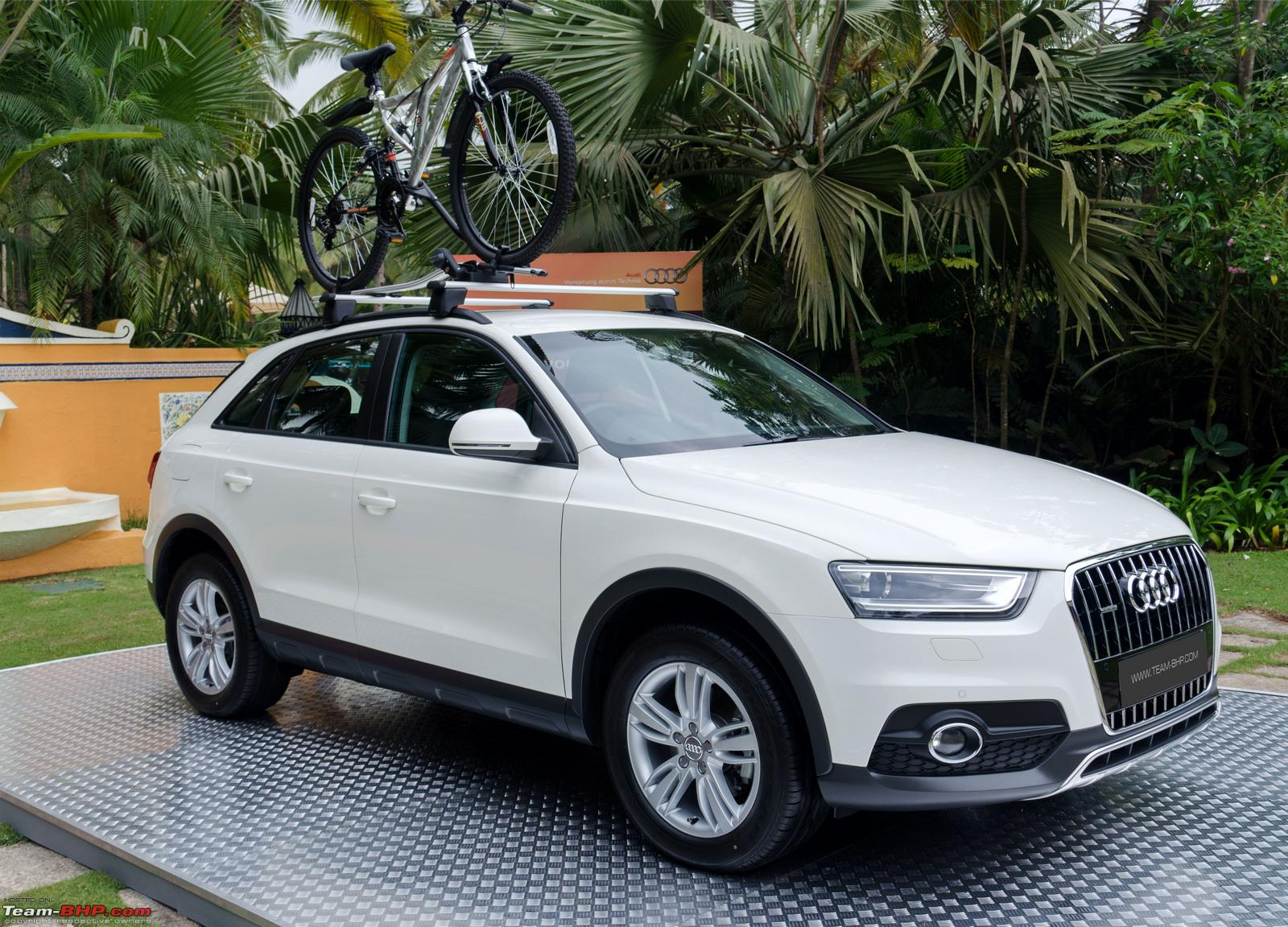 Audi Q3 Official Review Team Bhp