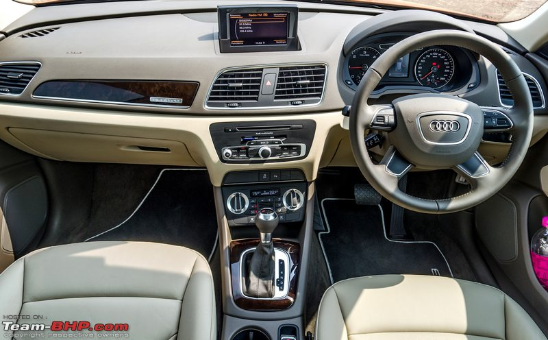 interior of audi q3 india. Black Bedroom Furniture Sets. Home Design Ideas