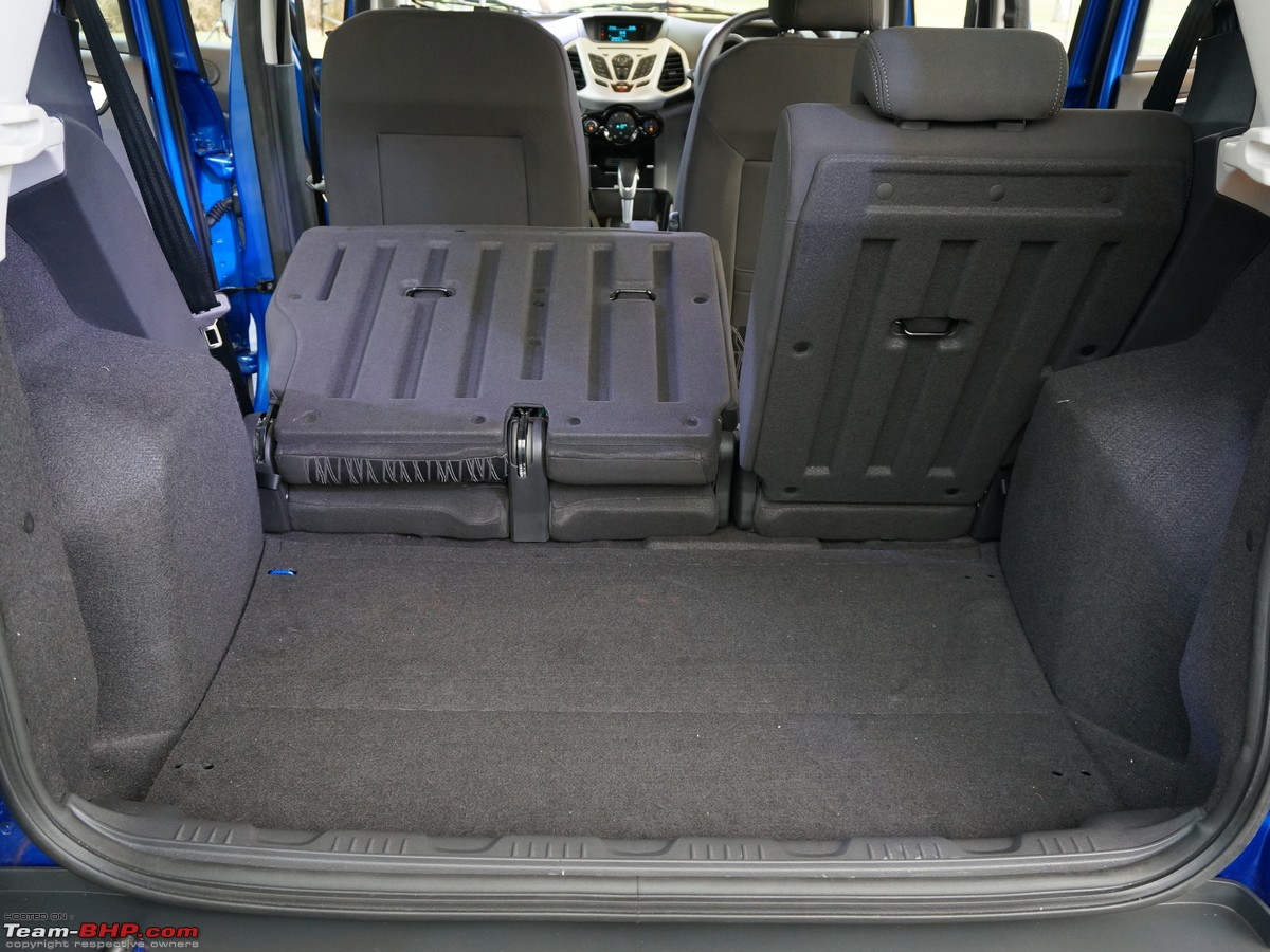 Image Result For Ford Ecosport Luggage Capacity